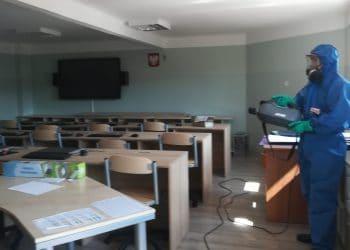 dezynfekcja szkoły